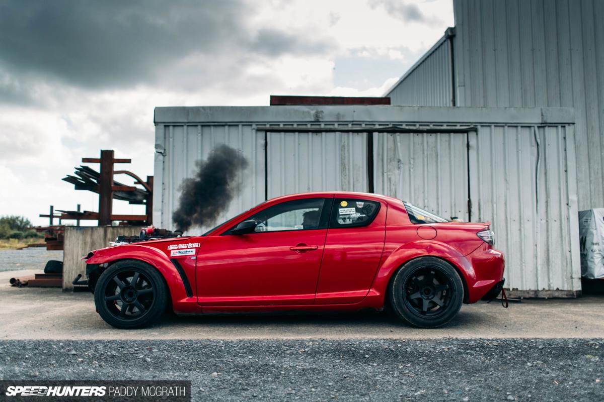 RX-Hate: A Cummins Diesel-Powered Mazda RX-8 - Speedhunters