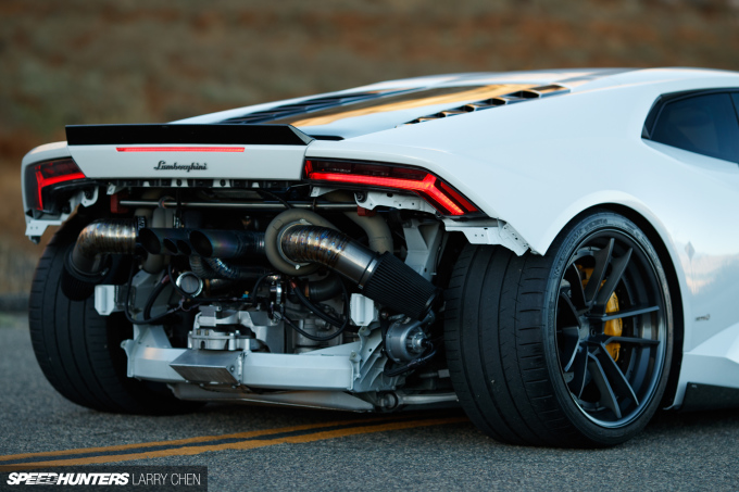 A 1,000+hp Huracán: First To SEMA Wins - Speedhunters