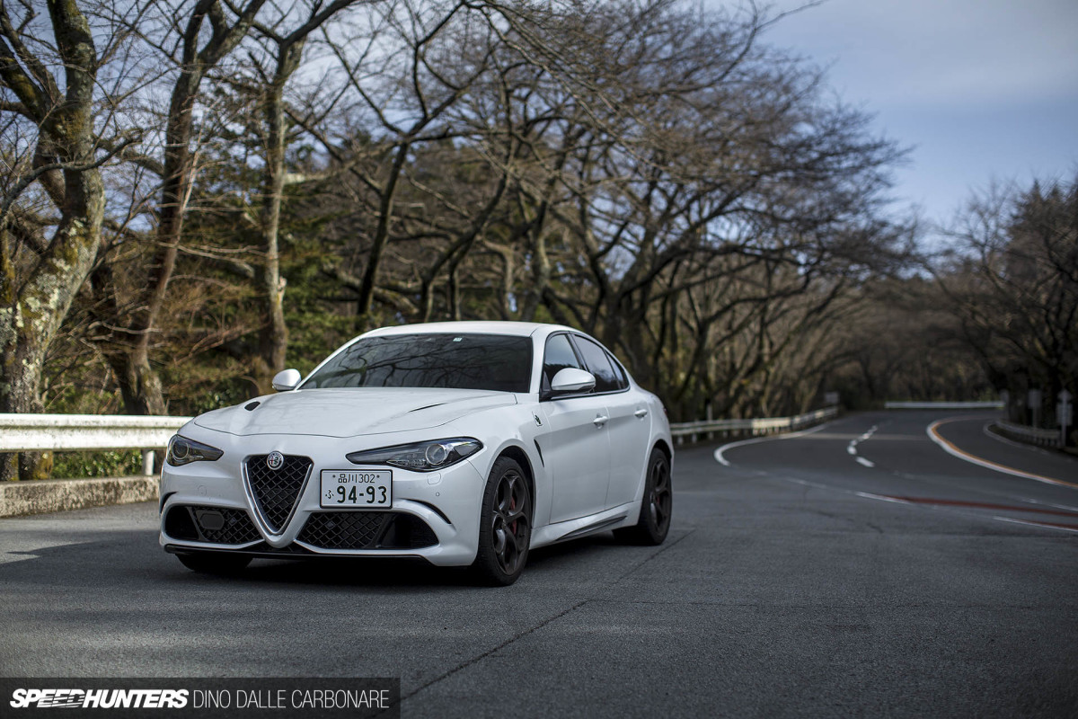 the alfa romeo giulia quadrifoglio is speedhunters. Black Bedroom Furniture Sets. Home Design Ideas
