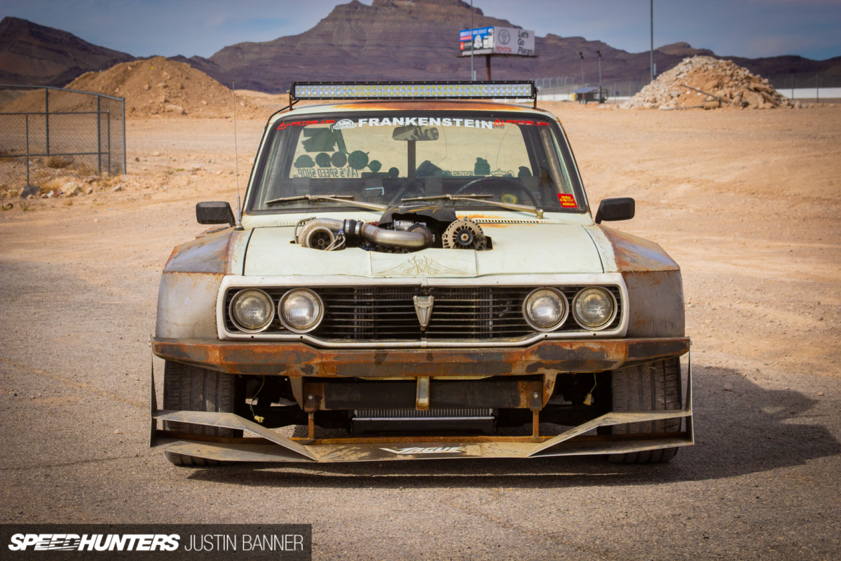 The Turbo V8 Frankenstein Hilux - Speedhunters