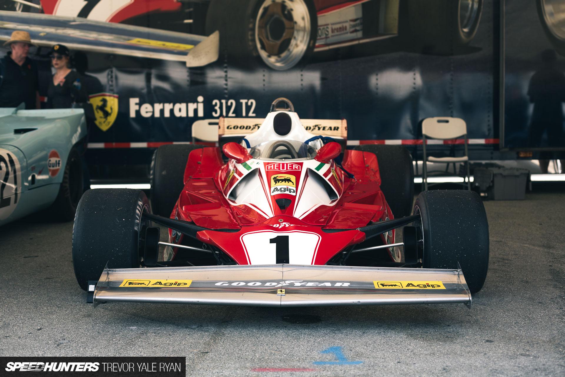 Experiencing Niki Lauda's Ferrari 312 T2 - Speedhunters