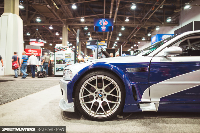 Someone At SEMA Has A Need For Speed - Speedhunters