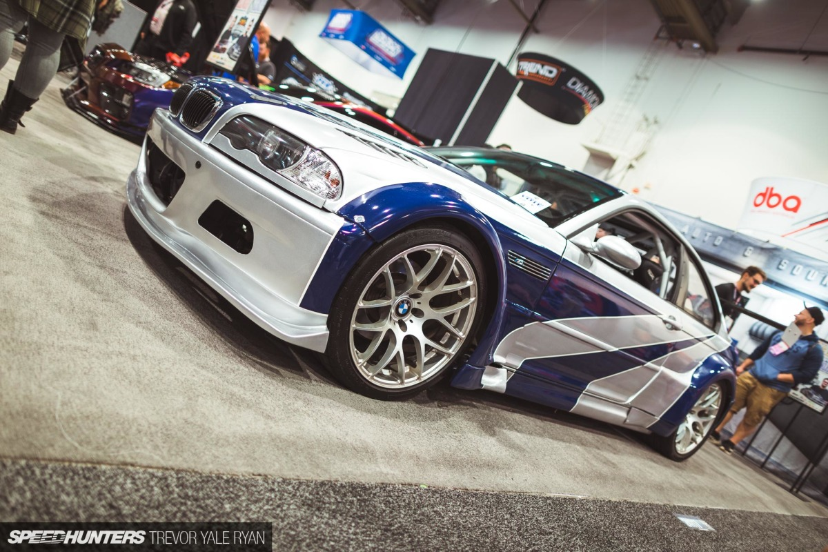 Someone At Sema Has A Need For Speed Speedhunters
