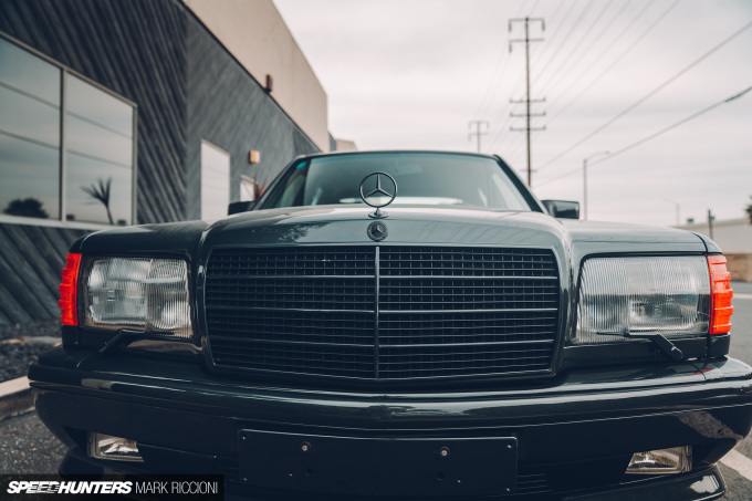 Hammering Out The Truth: Crooks & Castles' 560 SEL AMG