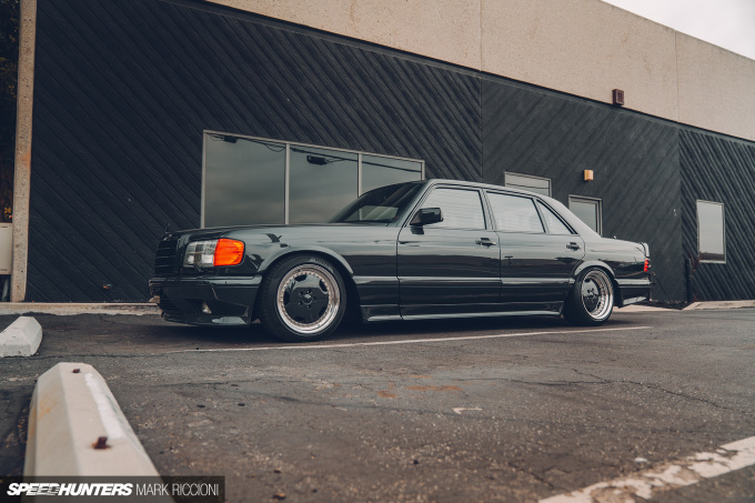Hammering Out The Truth: Crooks & Castles' 560 SEL AMG - Speedhunters