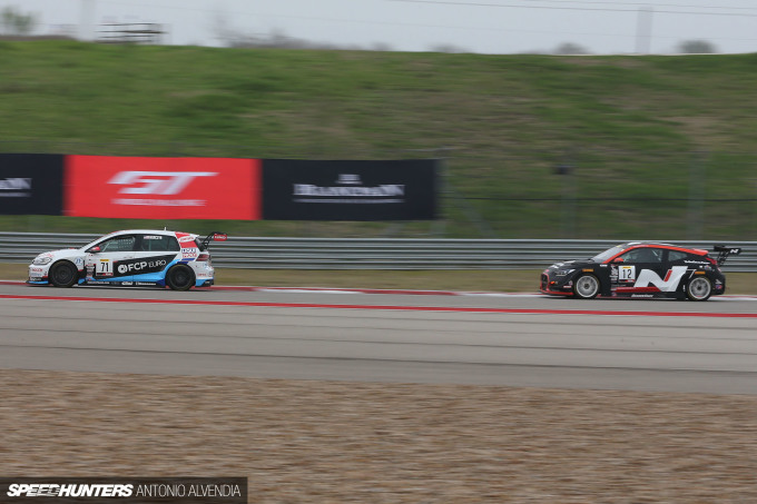 TC America Blancpain GT Challenge COTA Hyundai Veloster N
