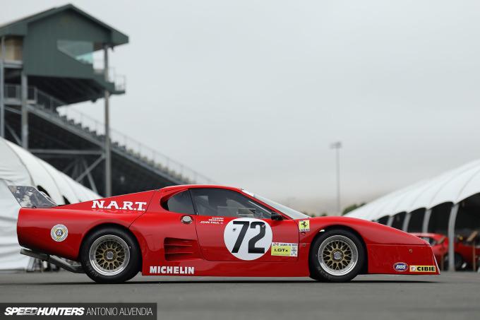 Sonoma Speed Festival NART Ferrari