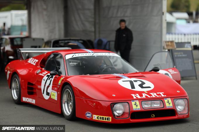 Sonoma Speed Festival NART Ferrari BB512 LM