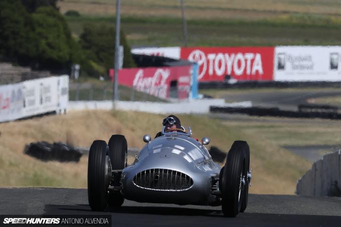Sonoma Speed Festival Mercedes AMG Formula One F1 Antonio Alvendia