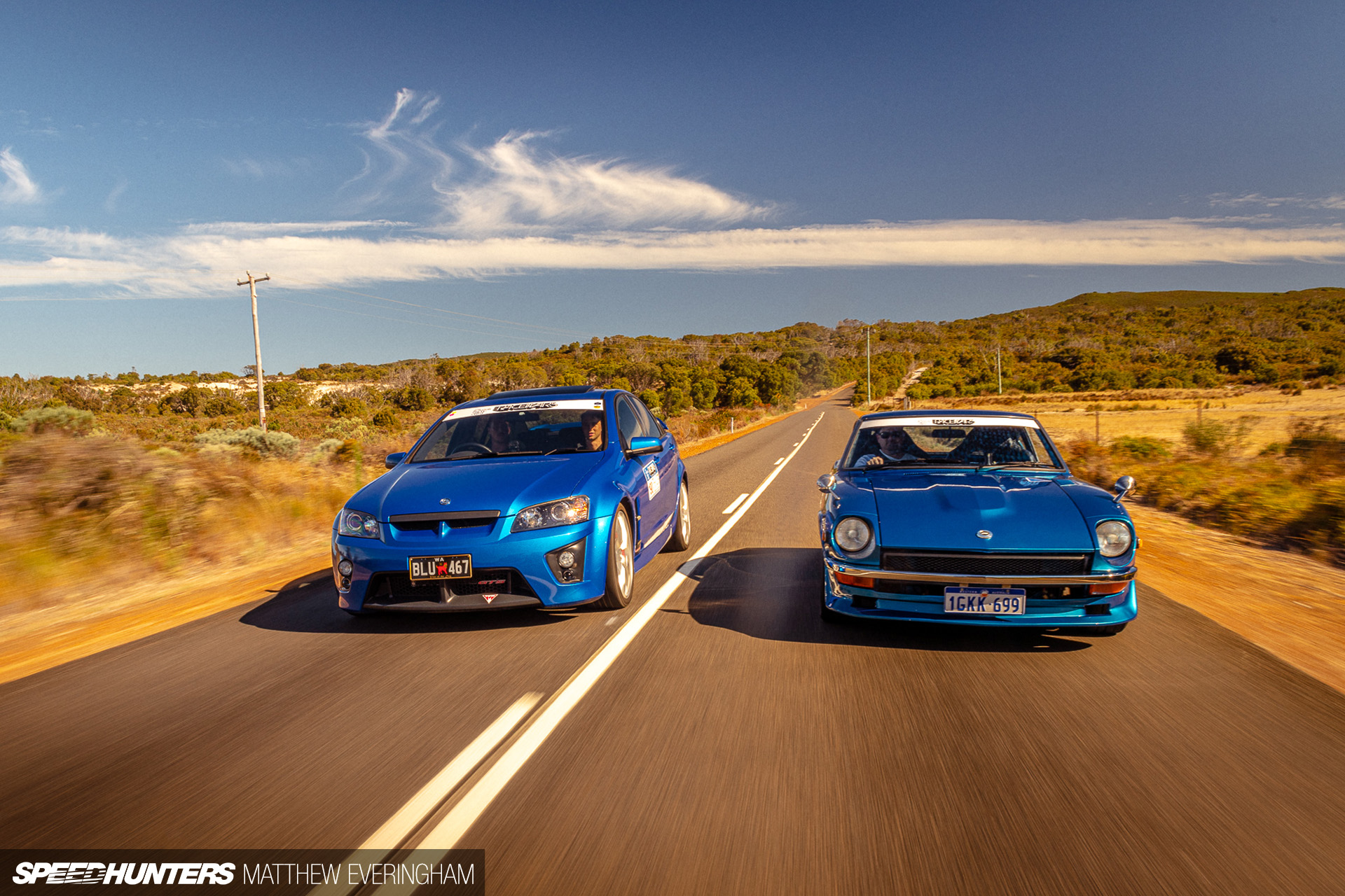 Brothers From Another Mother: A Fairlady Z & HSV GTS