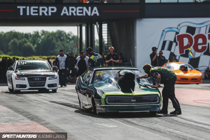The Fastest People Cars In Europe At Tierp Arena