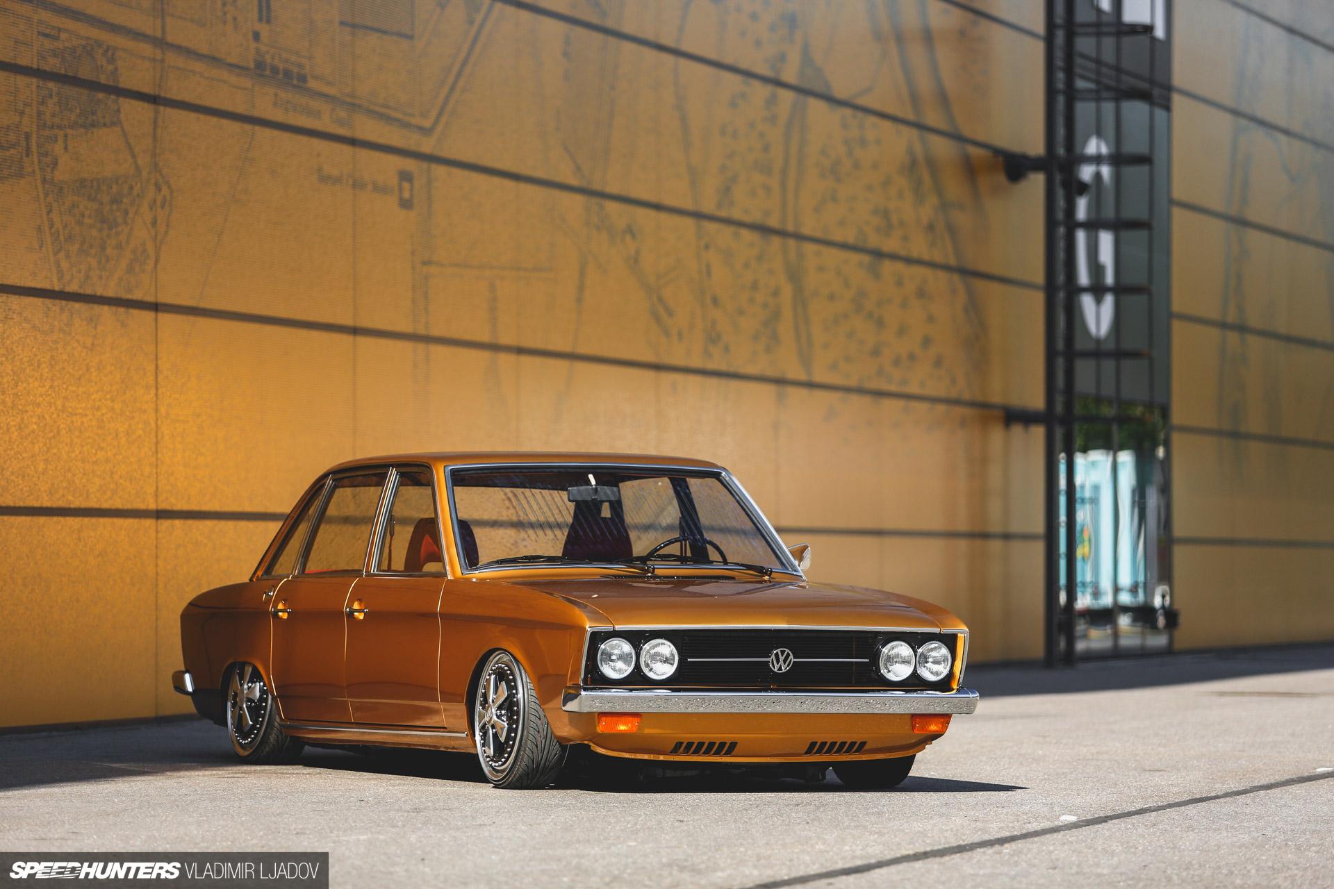 Show & Low With A Rare VW K70 Sedan
