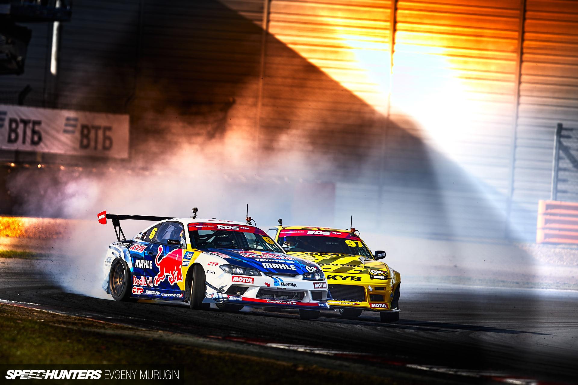 Shock & Awe: The Russian Drift Series' Spectacular Season Opener